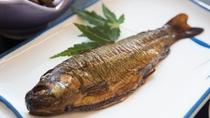 *【ご朝食一例/川魚】素朴だけど元気が出る、そんな朝ごはん。
