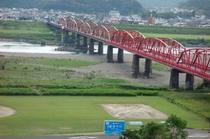 四万十川赤鉄橋