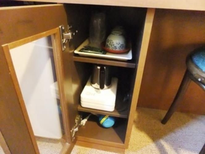 室内備品(湯沸し器・ドライヤー)