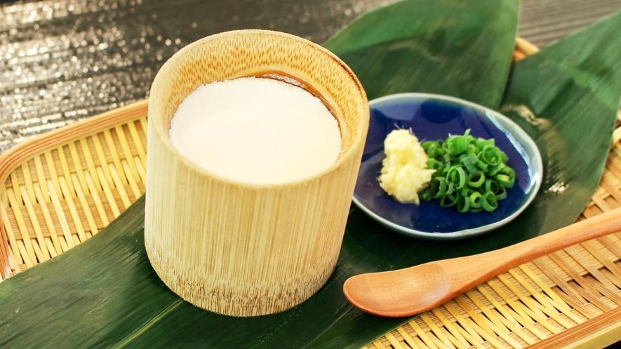 【朝食ブッフェ】朝フェス2017・石川県1位!「手作り竹筒とうふ」