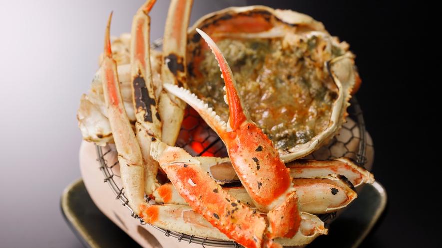 【加賀料理まほろば】ずわい蟹会席 甲羅焼き