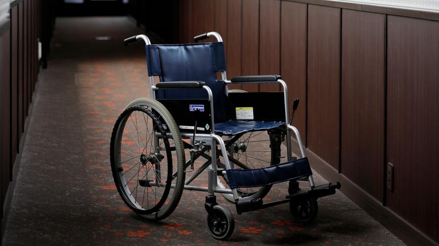 【貸出用品】車いすをご用意しております(要予約)