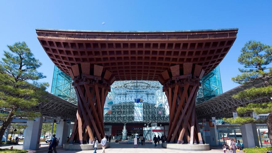 【周辺観光】金沢駅