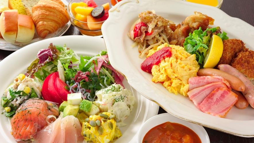 【朝食ブッフェ】洋食イメージ