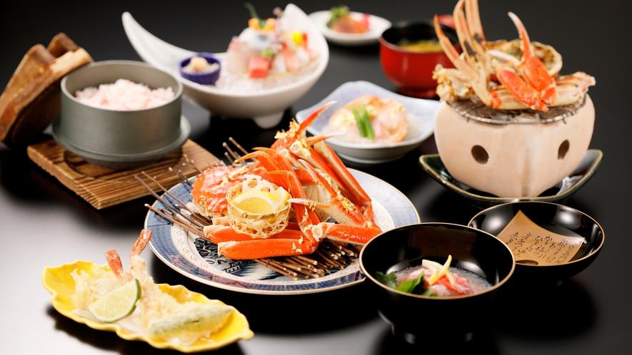 【加賀料理まほろば】ずわい蟹会席