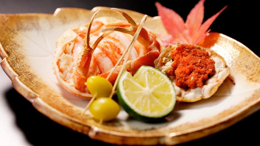 【加賀料理まほろば】冬の石川といえばコレ!香箱蟹(料理イメージ)