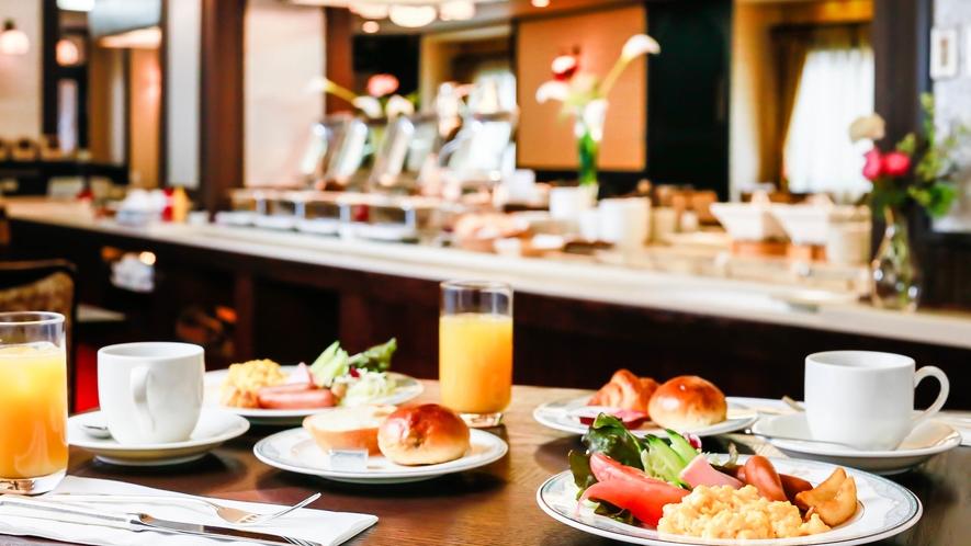 【朝食ブッフェ】金沢の味覚に満たされる、こだわりのブッフェ