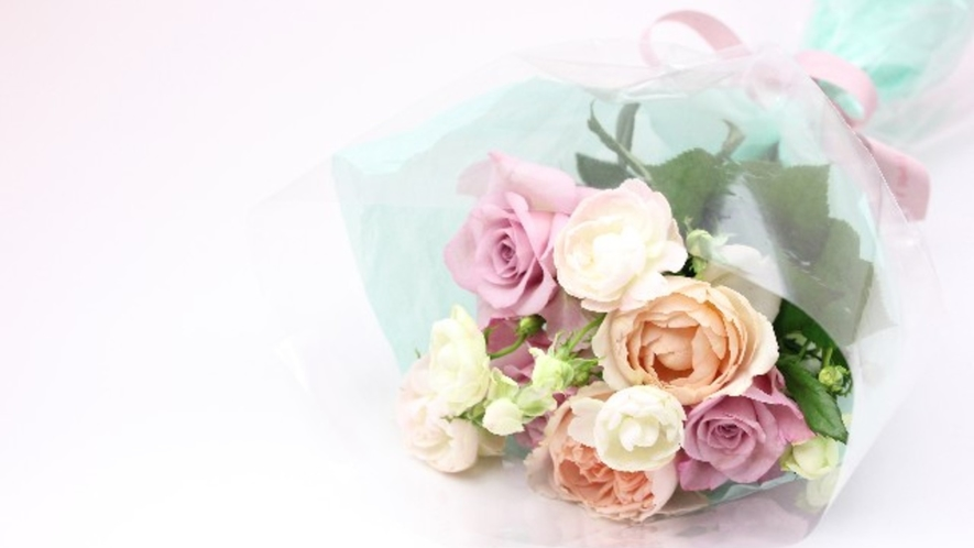 【記念日応援】花束のご用意お手伝いいたします(有料・事前予約制)