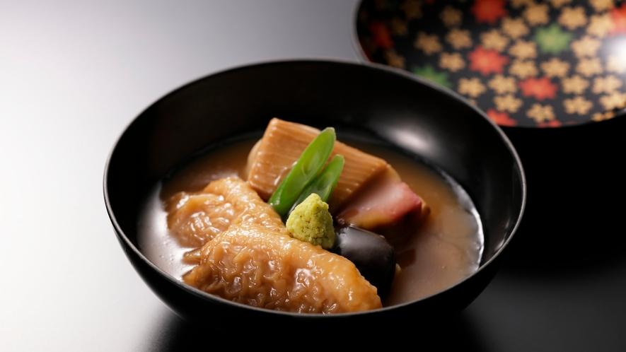 【加賀料理まほろば】鴨の治部煮