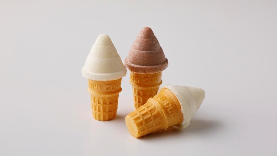 【湯上りアイスクリーム】ご自由にお召し上がりくださいませ。