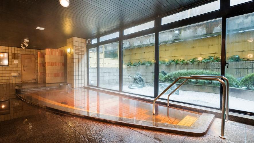 【天然温泉】男性浴場