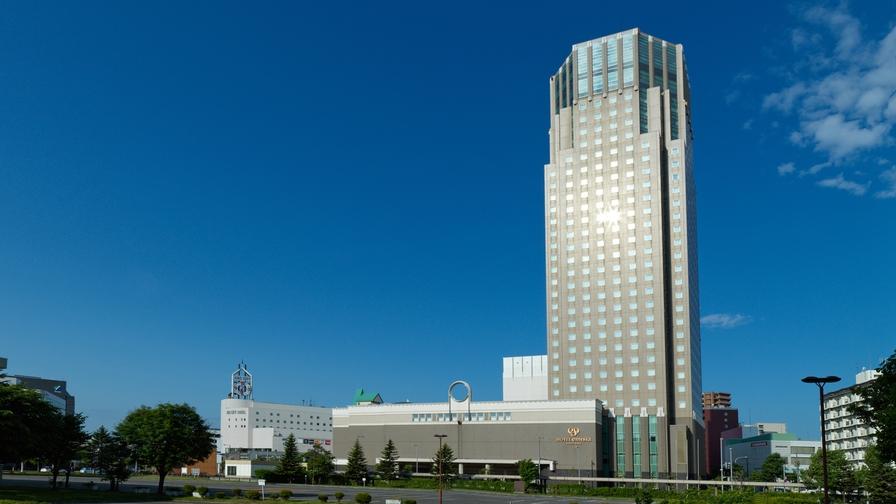 ホテルエミシア札幌 外観
