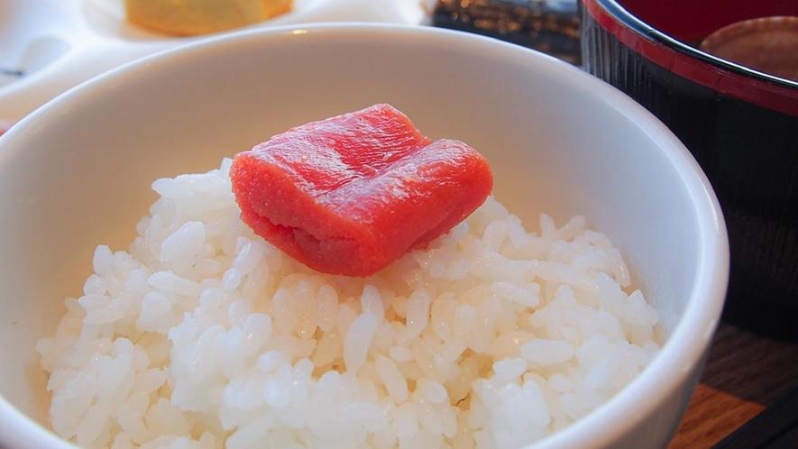 朝食イメージ ~ 北海道長沼産「ななつぼし米」