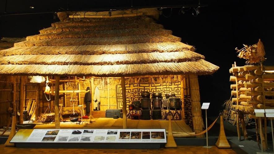 北海道博物館「第2テーマ アイヌ文化の世界」