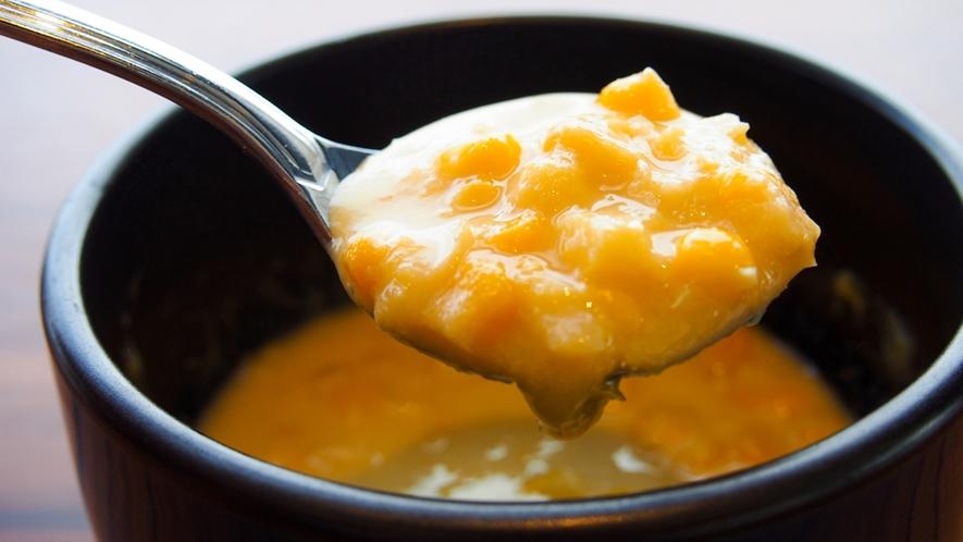 朝食イメージ ~ シェフいち押し!食べるコーンスープ