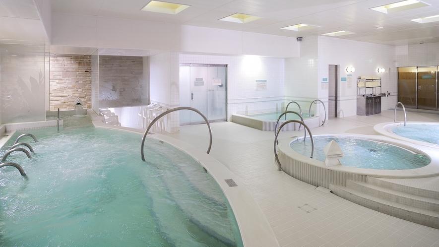リラクゼーション施設「Spa Alpa」 大浴場