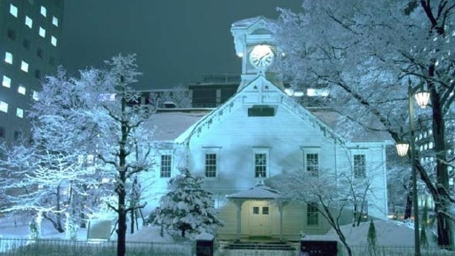 北海道の冬 札幌時計台