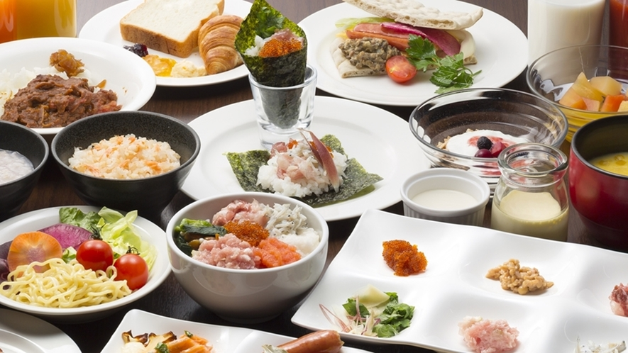 朝食イメージ ~ 31F Sky Restaurant Hareus Buffet