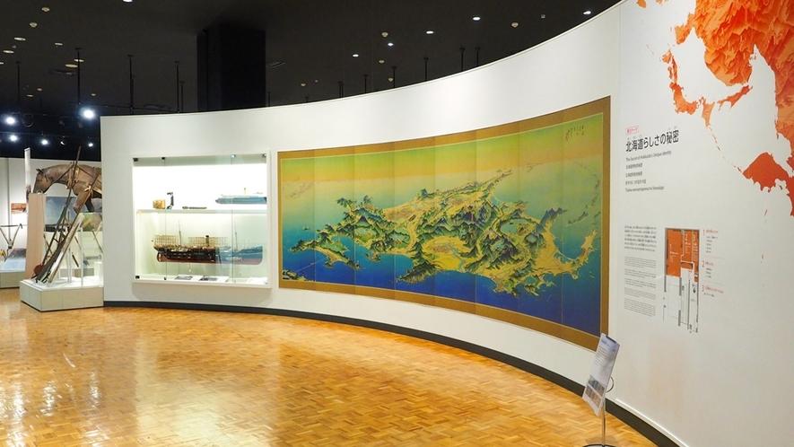 北海道博物館「第3テーマ 北海道らしさの秘密」