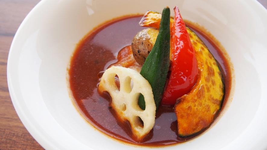 朝食イメージ ~ 札幌発祥のスープカレー
