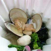 夕食の一例(春の鍋物)
