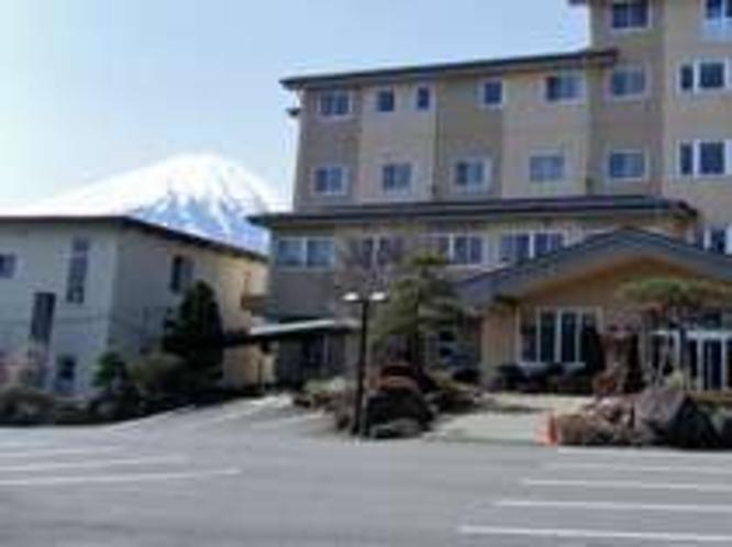 外観 富士山が見えます