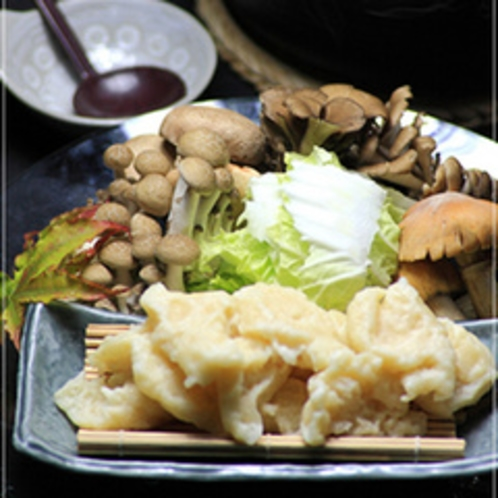 きのこ水団鍋