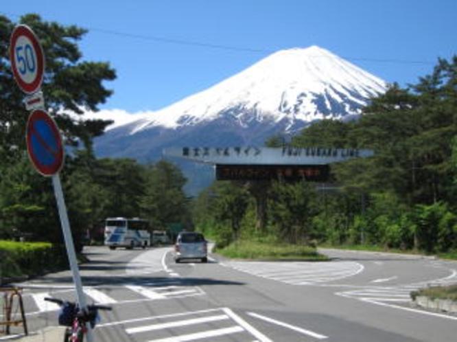 富士山へ_富士スバルライン