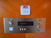 客室内LAN端子