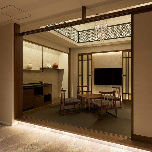 7階 禁煙 スイートルーム/リビング和室