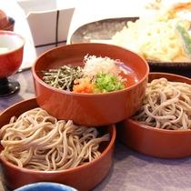 【夕食】出雲名物・割子そば(出雲蕎麦)御膳 (イメージ2)