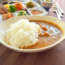「仁多米の朝カレー」仁多米を使用した朝からおすすめの一品♪