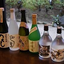 麦・芋、出雲の焼酎、日本酒地酒も取り揃えております♪