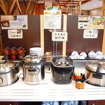 炊きたて♪「仁多米」 /出雲の朝はこれ!「しじみのお味噌汁」 /仁多米の朝カレー!