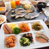6:30オープン!ご朝食は地元食材を活かした和洋バイキング!