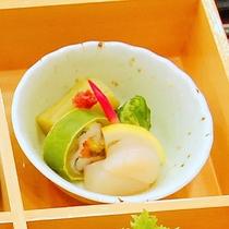 【夕食】酢の物/食彩豊かにバラエティ♪「松花堂」 (イメージ)
