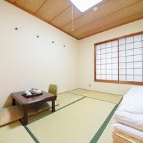 【和室6畳】ファミリーやグループ様におすすめな和室タイプのお部屋。