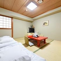 【和室8畳】ファミリーやグループ様におすすめな和室タイプのお部屋。