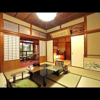 松の建材と趣きの和室「松の間」