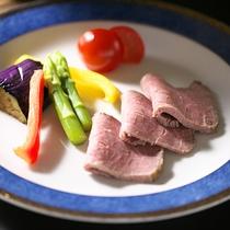 夕食一例(洋皿)