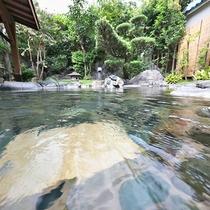 庭園大野天風呂★