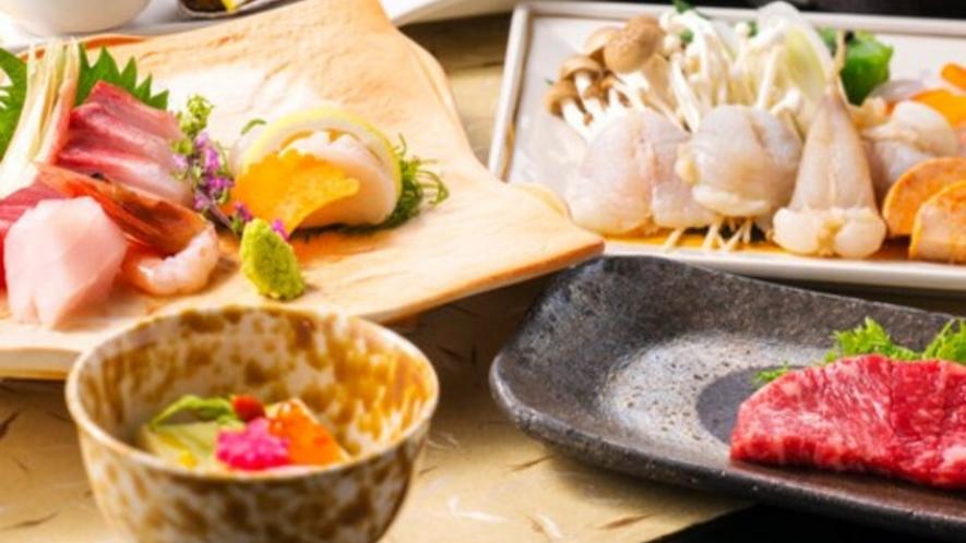 冬~胡蝶の膳~ ひとつ上の贅沢!旬の食材をお楽しみください