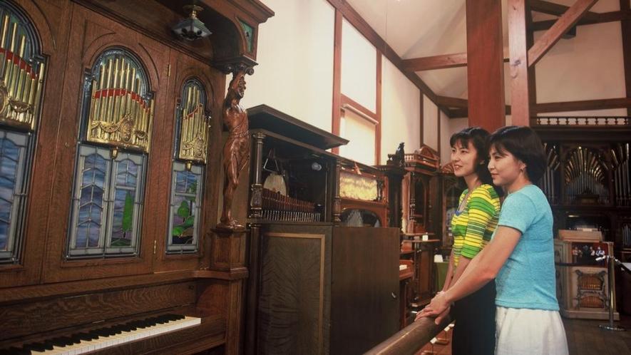 萌木の村ホール・オブ・ホールズのオルゴール
