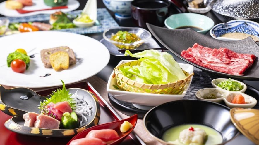 夏~初音膳~ こちらの料理はイメージです
