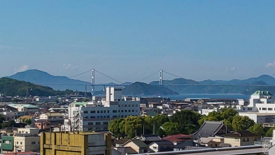 【客室からの風景】高層階から見える景色