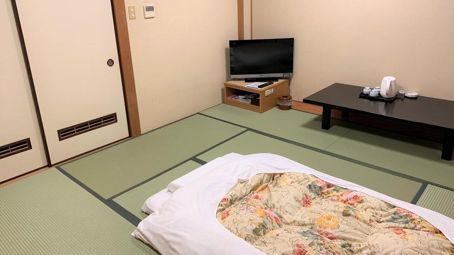 【和室8畳】4名様までご宿泊頂けます。