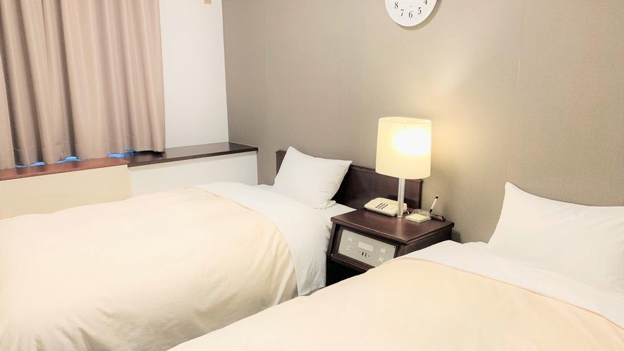 【ツインルーム本館】130センチ幅ベッド