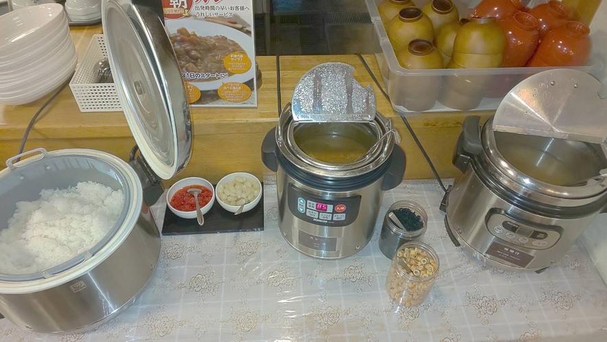 【朝カレー】根強い人気‼とっても美味しい手作りカレー♪