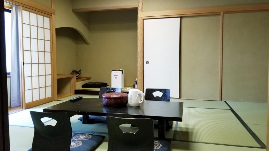 【和室10畳】5名様までご宿泊頂けます。
