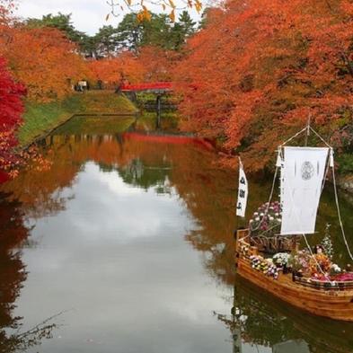 秋の紅葉は10月中旬以降が見頃♪津軽の紅葉を巡る旅★【1泊2食付】